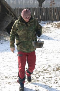 Skautské zimní vaření 2012