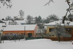 Zima u nás na dědině 2011
