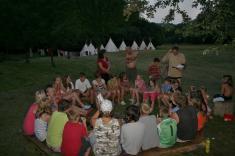 Skautský tábor 2012